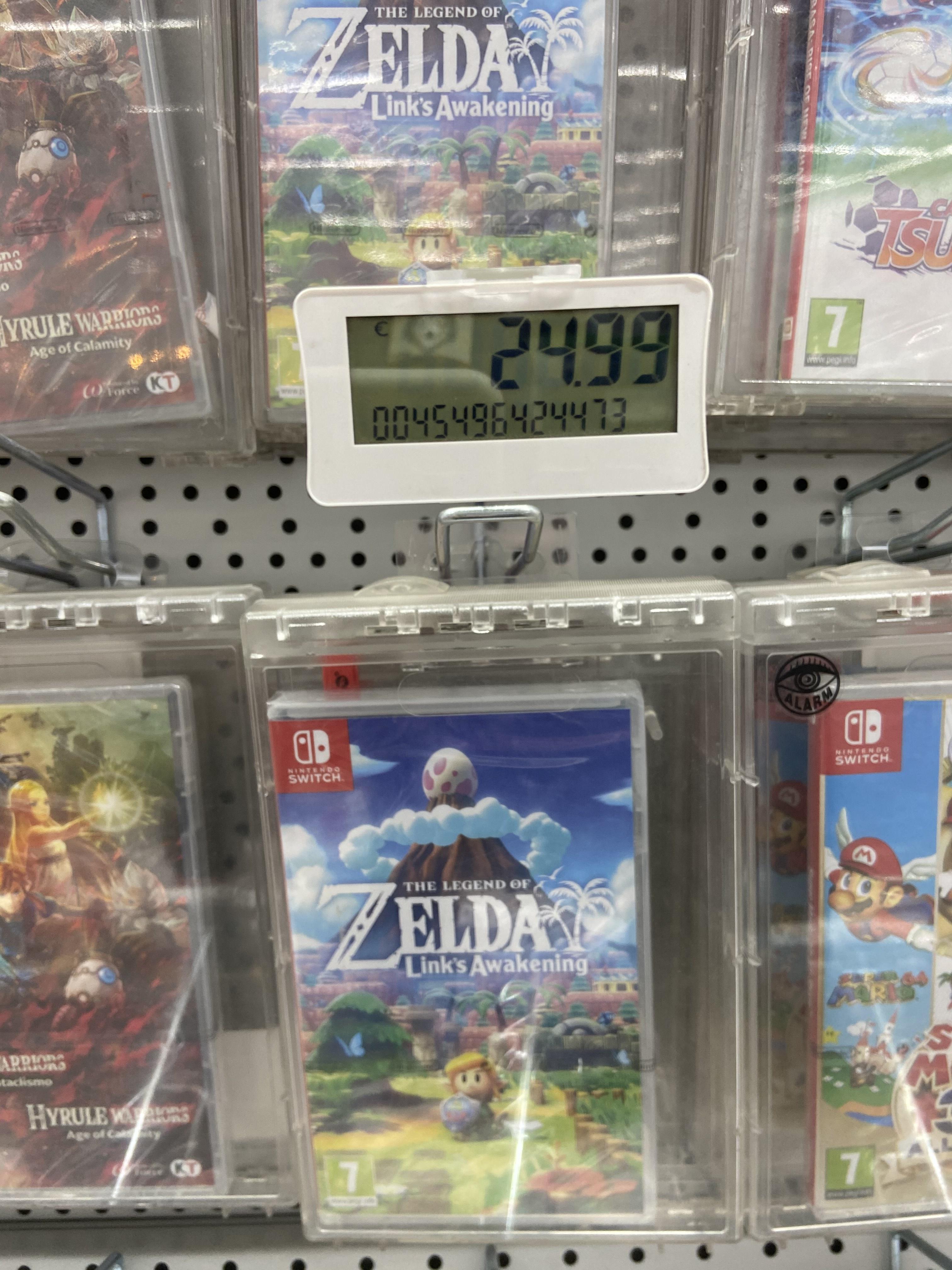 Zelda Link's Awakening (Nintendo Switch) en MediaMarkt palacio de congresos (Valencia)