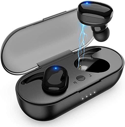 Auriculares Bluetooth con Sonido Hi-Fi, Tiempo de Reproducción Extendido de 24 Horas