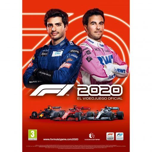 Póster Carlos Sainz F1 2020