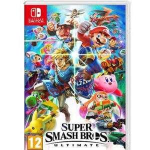 Super Smash Bros. Ultimate (Nintendo Switch, Físico, AlCampo)