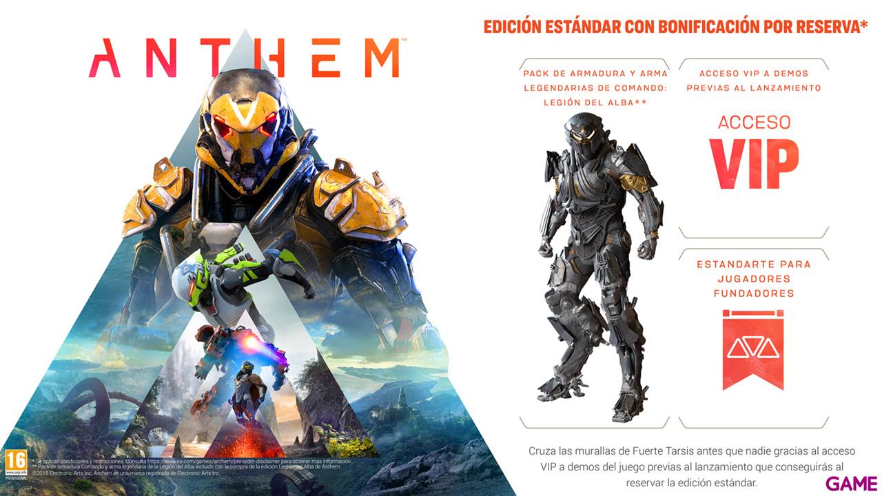 ANTHEM PS4 en Game