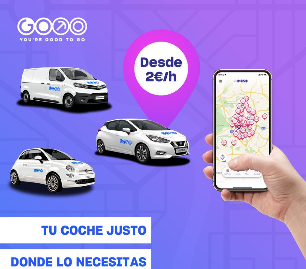 15€ de descuento para alquilar un coche de GoTo