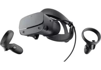 Gafas de realidad virtual - Facebook OCULUS Rift S, Controles Oculus Touch, Diadema Halo, Negro