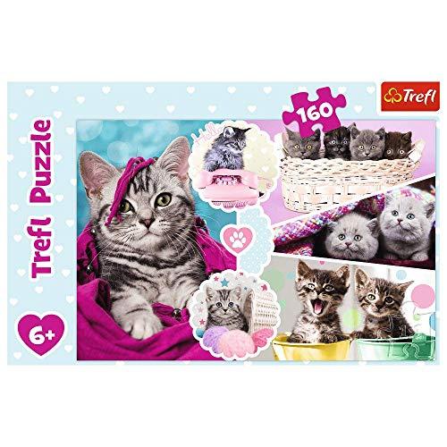 Puzzle infantil de 160 piezas gatitos