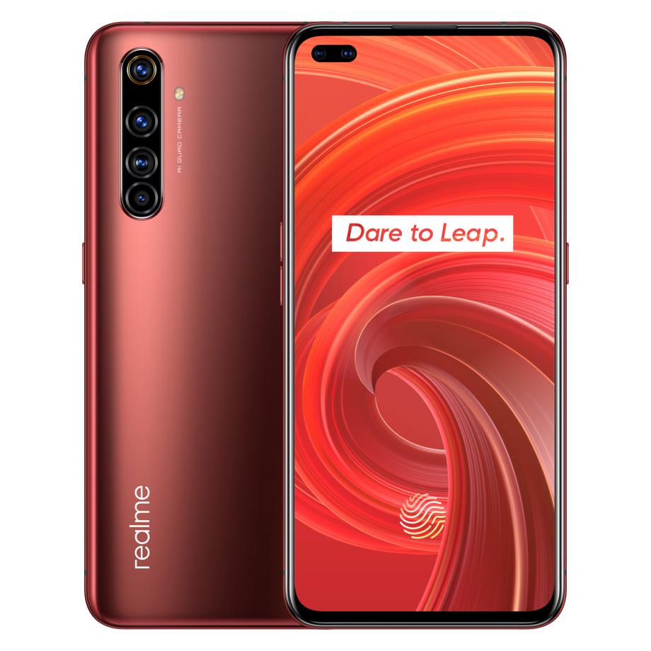 Realme X50 Pro 5G ( Rojo rústico EU PLUG 8GB+128GB ) tienda OFICIAL