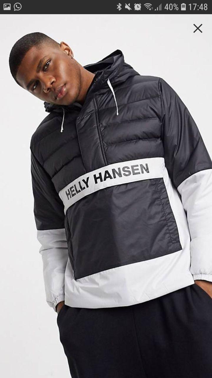 Anorak negro Helly Hansen XL