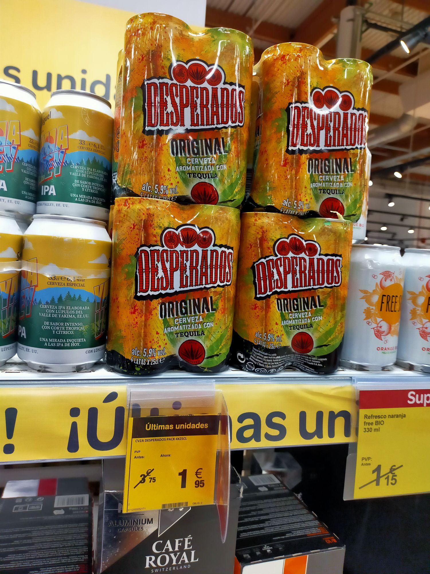 Cerveza DESPERADOS ORIGINAL