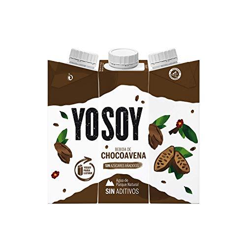 YOSOY - Bebida de Chocoavena - Caja de 8 packs de 3x250ml: 24 briks (12'69€ compra recurrente)