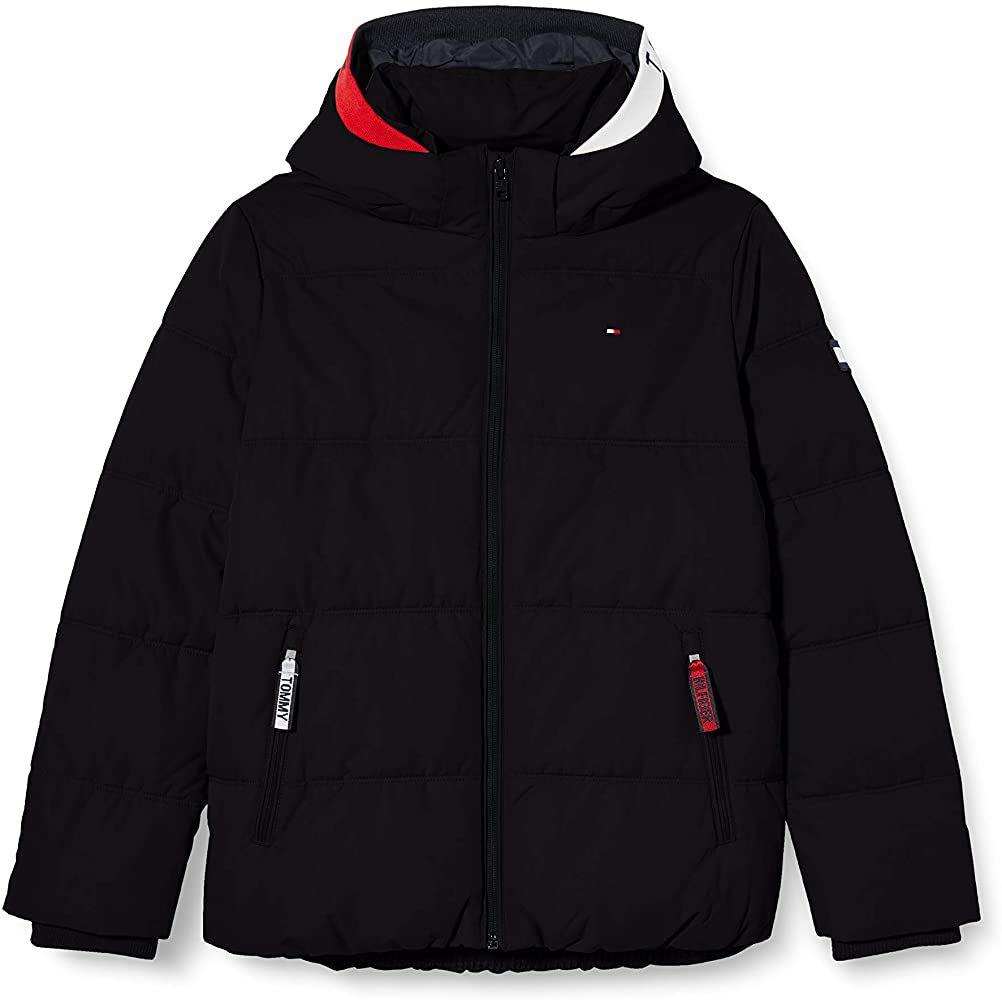 TALLA 92cm - Tommy Hilfiger Essential Padded Jacket Chaqueta para Niños