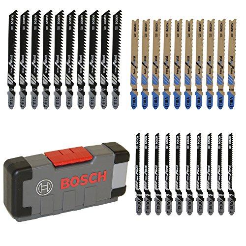 Bosch Professional set 30 hojas para de sierra de calar.