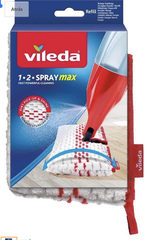 Vileda 1-2 Spray Max - Recambio Mopa