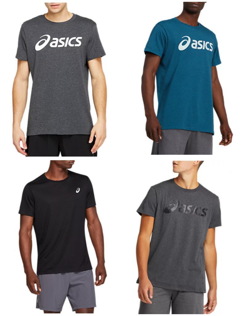 2 Camisetas Asics por 12.75€