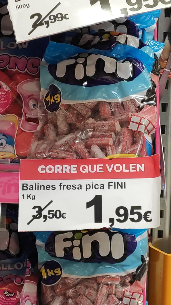 1kg. Gominolas ladrillos pica-pica en SUPECO Tortosa