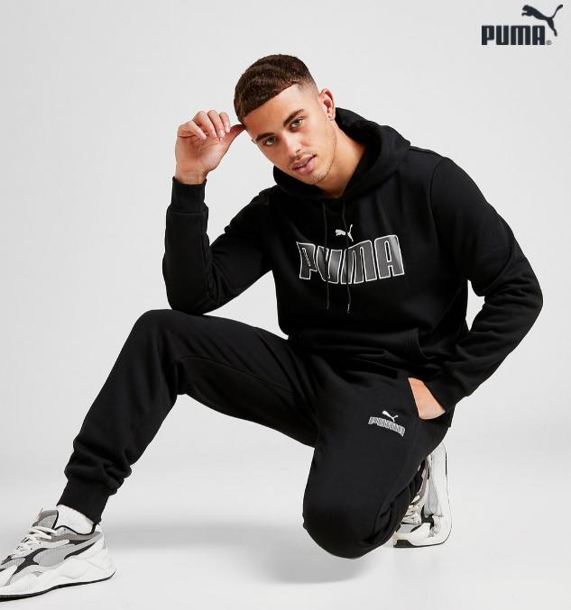 Puma pantalón Core Logo