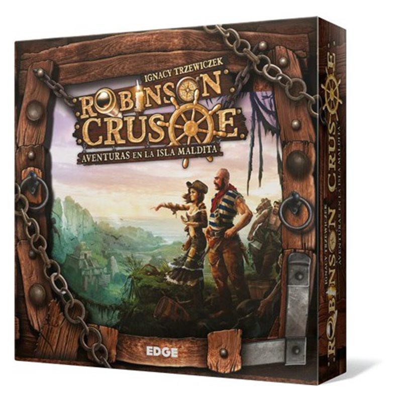 Robinson Crusoe: Aventuras en la isla maldita - Juego de Mesa
