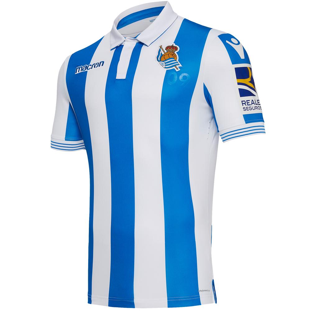 Camiseta de la Real Sociedad (1ª equipación), hombre L-XL