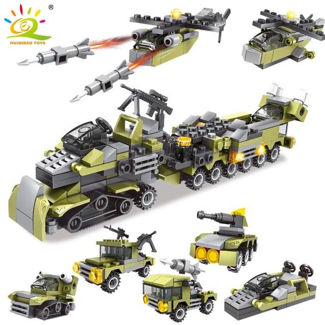 Ejército militar 296 piezas