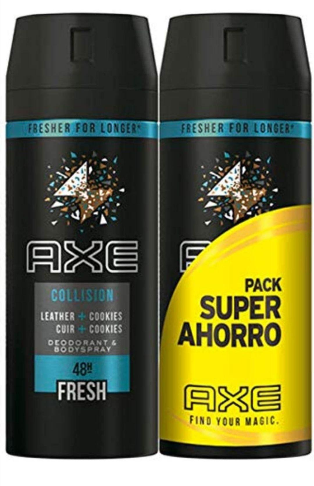 AXE Leather&Cookies/black (2x150ml) compra recurrente