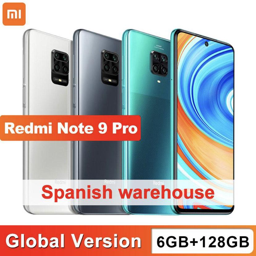 Redmi Note 9 Pro 6/128Gb desde España por solo 171,9€