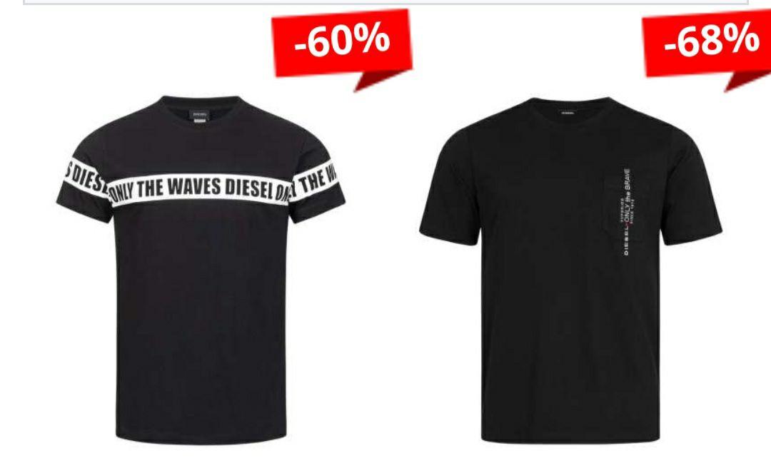 Camisetas (DIESEL) Hasta un 68% de descuento + cupón 5€ al registrarte