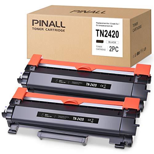 2 tóners compatibles para Brother TN-2420 con chip