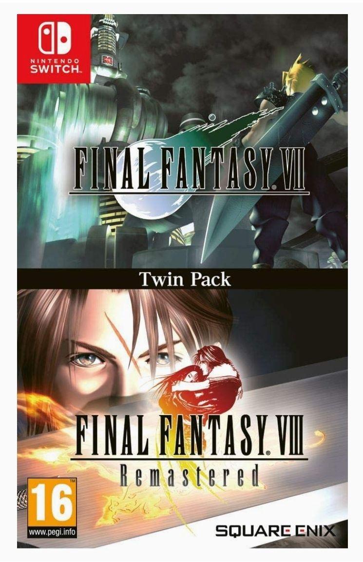 Nintendo Switch Final Fantasy VII & Final Fantasy VIII Remastered Twin Pack