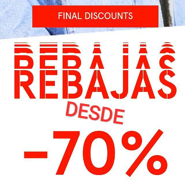 DESDE -70% de descuento. Muchos complementos y prendas por solo 1,9€