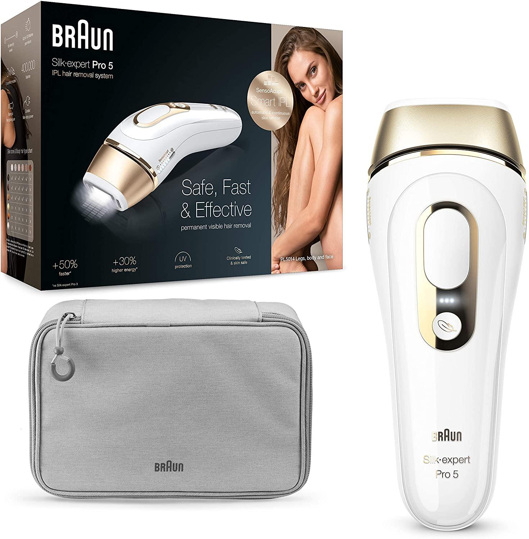 Depiladora IPL Braun Silk Expert Pro 5 solo 229€