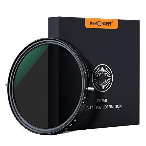 Filtros Slim MRC Polarizador y ND Variable ND2-ND32 K&F Concept (varios tamaños)