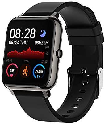 BOZLUN Smartwatch, Reloj Inteligente control Sueño Pulsómetros Cronómetros Contador de Caloría,1.4