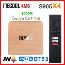 TV Box Mecool KM6 Deluxe 4GB+64GB