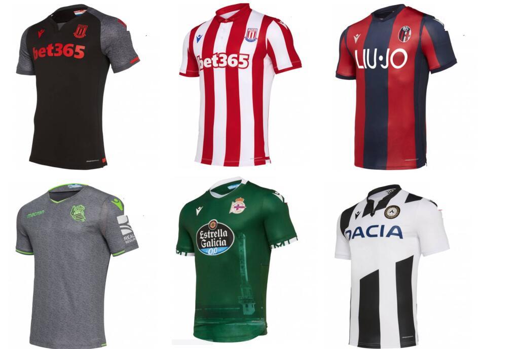 Recopilación Camisetas de Fútbol por 19.99€/Unidad