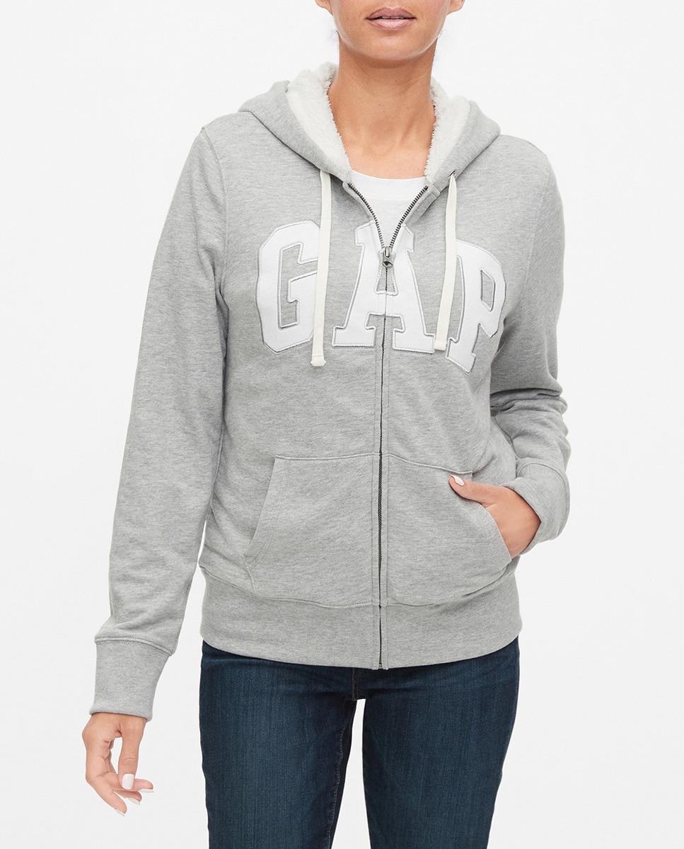 Sudadera de mujer con capucha y manga larga, Gap