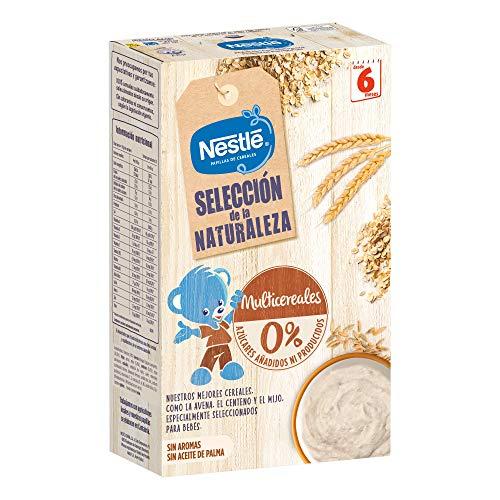 Nestlé selección naturaleza multicereales, 6 x 330g