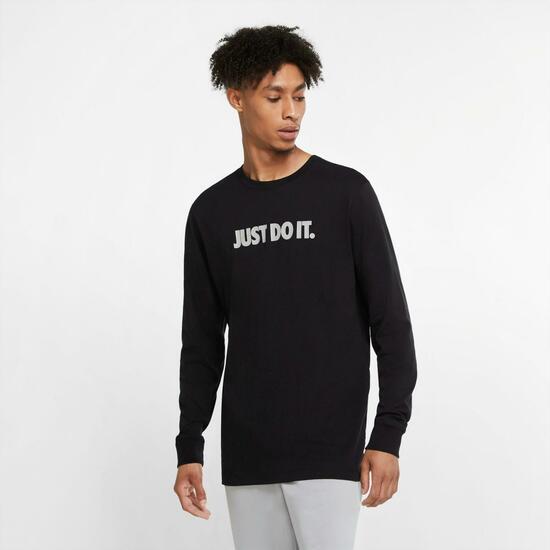 "Camiseta manga larga ""Just Do It"" de Nike en tallas (S, M, L y XL)"