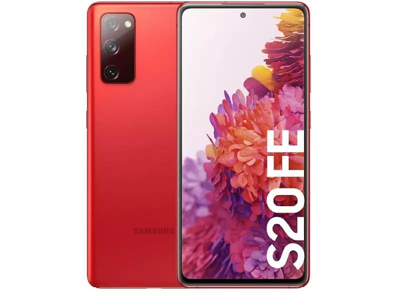 Móvil - Samsung Galaxy S20 FE, Rojo, 256 GB, 8 GB + Tarjeta Regalo 60€