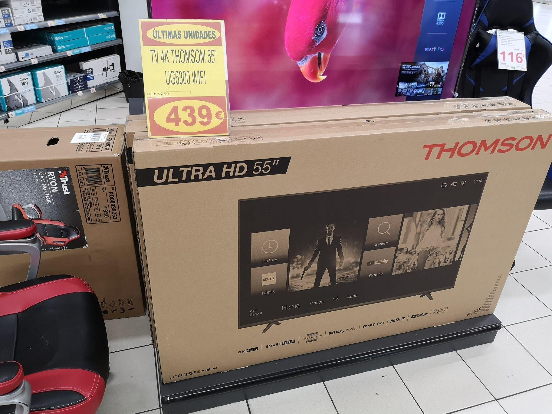 Smart Tv thomson ug6300 55 pulgadas
