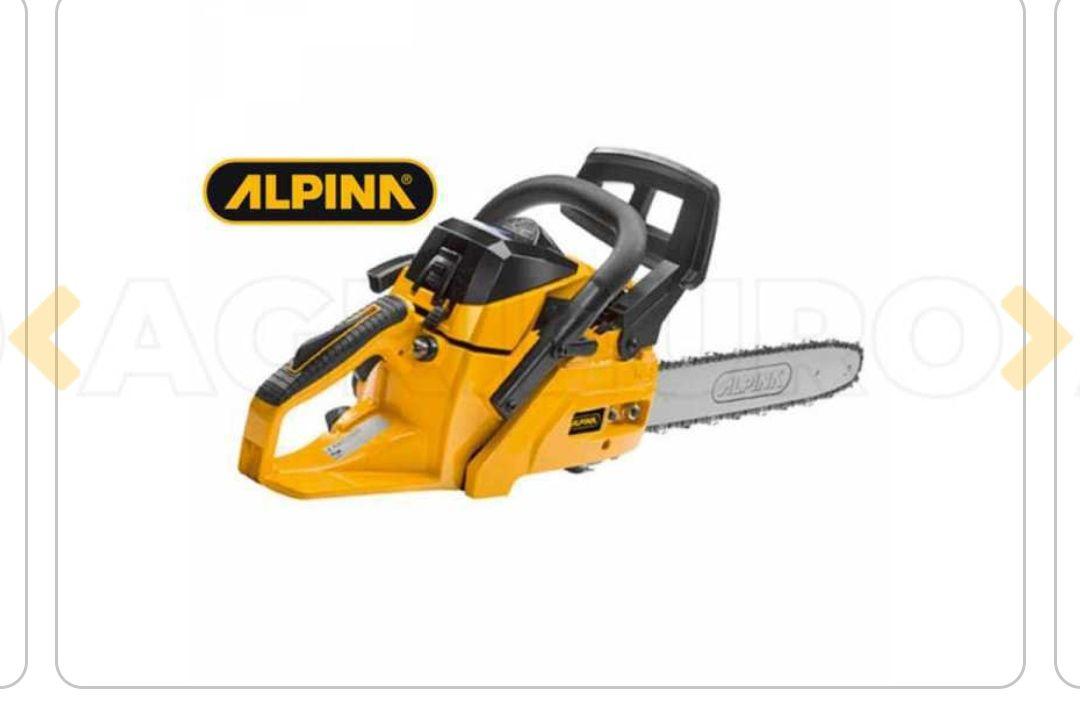 """Motosierra de mezcla Alpina A 405 - 16"""" espada cm 40 - motor 2 tiempos 40 cc + Accesorios gratis"""