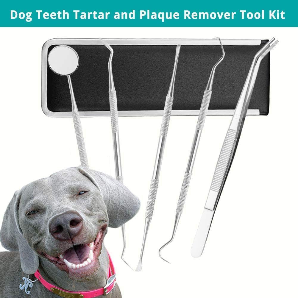 SCOBUTY Sarro Dental Limpiador,Limpiador de Dientes para Perros y Gatos
