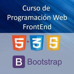 Curso GRATIS desarrollo web front-end [61h, Udemy, inglés]