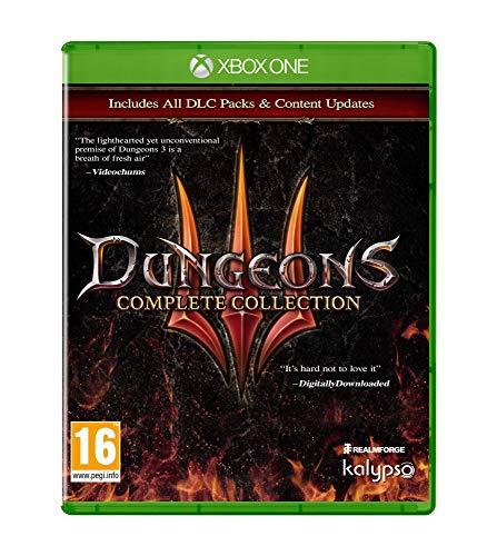 Dungeons 3 Complete edition Xbox ONE, edicion fisica