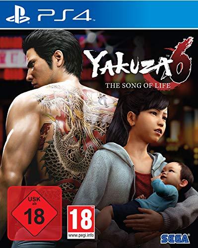 Videojuego, Yakuza 6: The Song of Life, PlayStation 4 importación alemana
