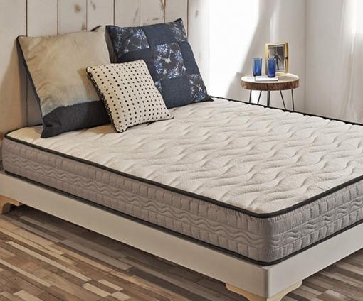 Colchón Confort Plus Con Cosido Reforzado Y Tejido 3d 140x200cm