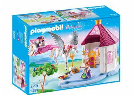 Playmobil princess - princesa pabellón con pegaso