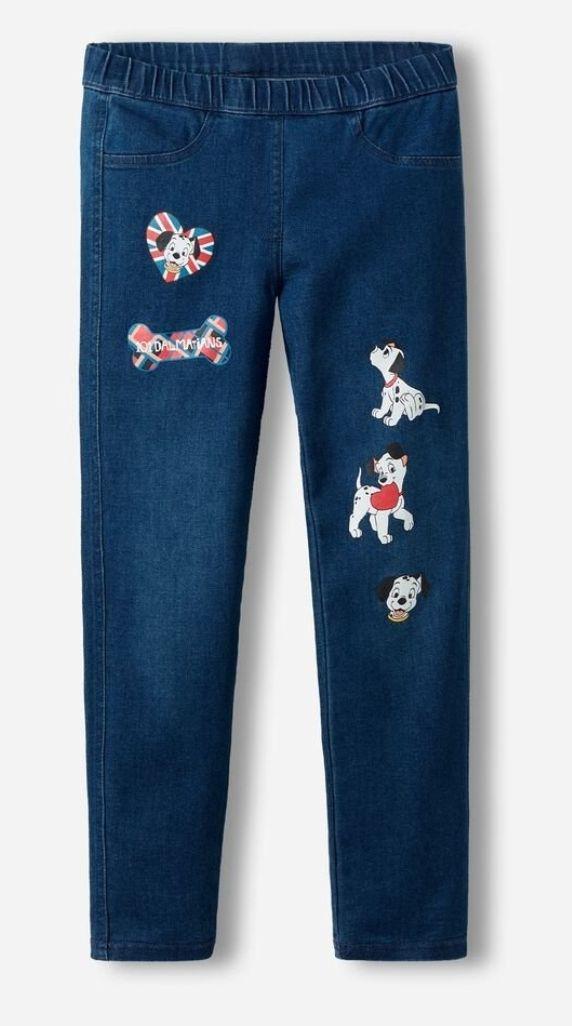 Leggings vaqueros Disney de niña