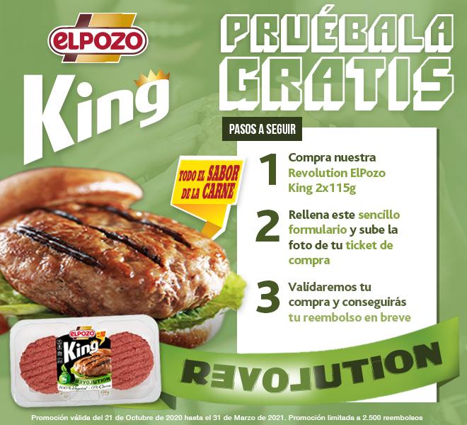 (Reembolso) Prueba las nuevas hamburguesas de ElPozo