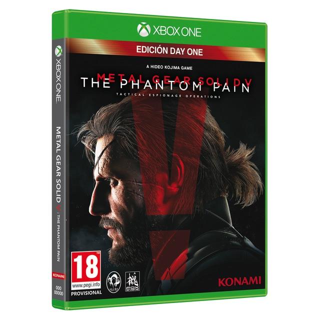 Metal Gear Solid V: The Phantom Pain para Xbox One - juego físico