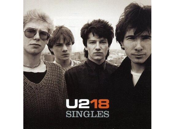 U2 18 singles CD
