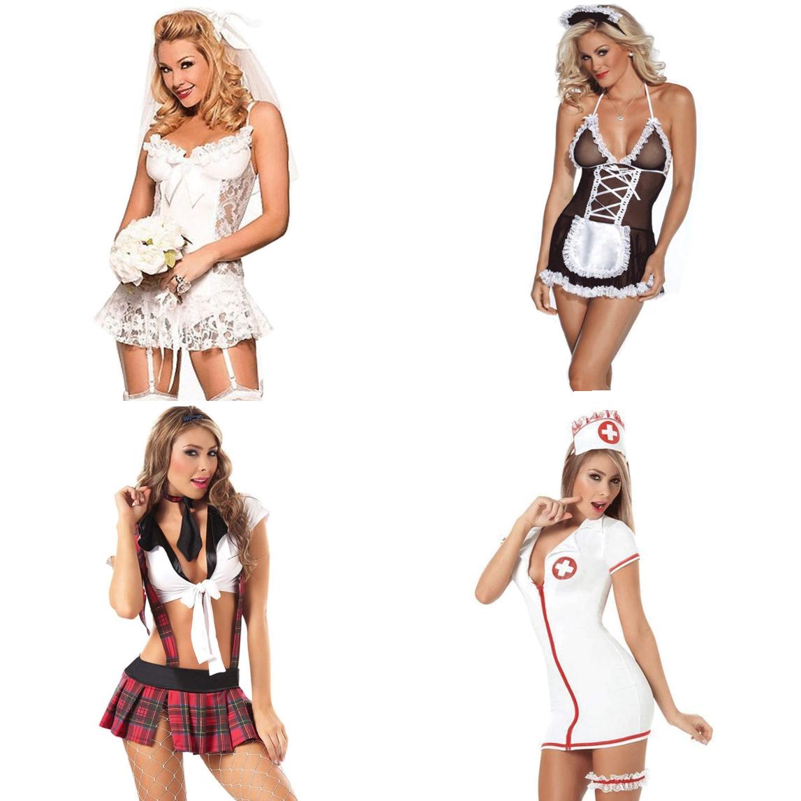 Lencería erótica para ellas - 4 modelos diferentes