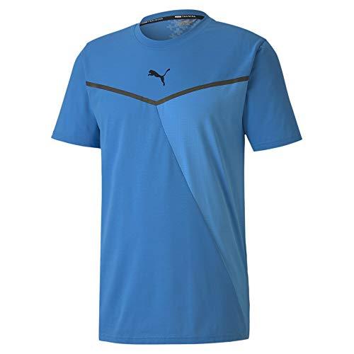 Camiseta PUMA Train Thermo R+ BND Short Sleeve tee de Hombre, color azul, talla S